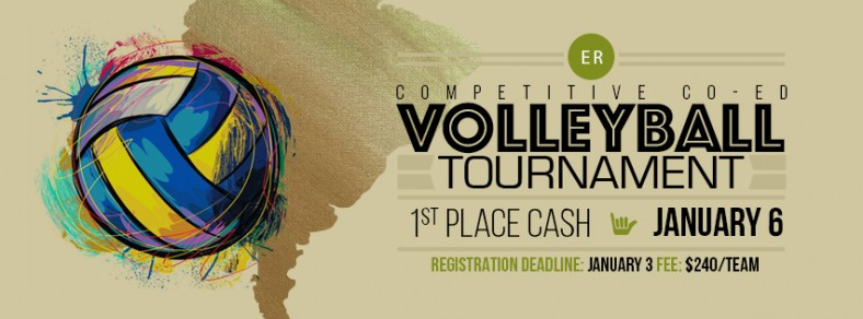 Volleyball tournament 2018